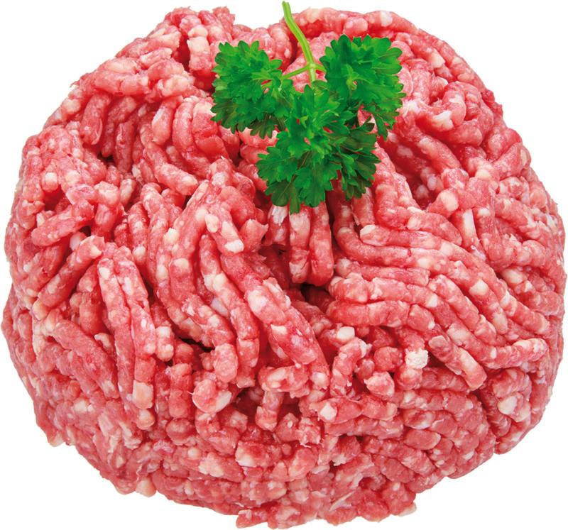 Hackfleisch vom Rind
