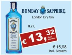 Bombay Saphire London Dry Gin