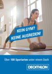 DECATHLON Decathlon: Kein Gym? Keine Ausreden! - bis 24.01.2021