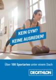Decathlon: Kein Gym? Keine Ausreden!