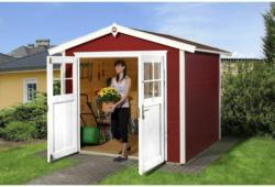 "Gartenhaus ""224"", 280x259x227 cm, rot 280x259x227 cm | rot"