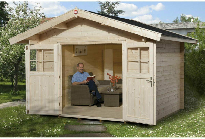 "Gartenhaus ""Premium"" 28 mm, 300x380x262 cm 300x380x262 cm"
