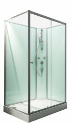 "Wellnesskabine ""Ibiza"", 204x120x80 cm, rechts, light-grün 204x120x80 cm"