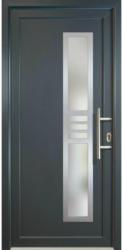 """Haustür """"JM Signum"""" Aluminium Mod. 53, titan/titan, Anschlag rechts, 108x208 cm rechts"""