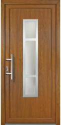 "Haustür ""JM Signum"" Exklusiv PVC Mod. 87 golden oak/golden oak, Anschlag links, 98x208 cm Links"