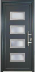 """Haustür """"JM Signum"""" Aluminium Mod. 92, titan/titan, Anschlag rechts, 108x208 cm rechts"""