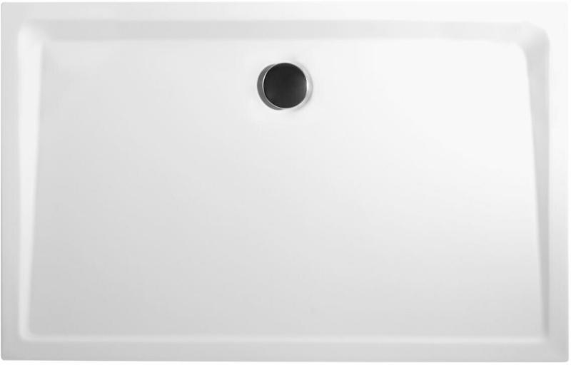 Duschwanne, 80x100 cm, weiß
