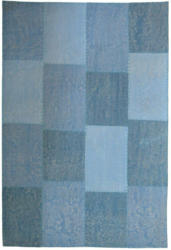 """Vintage-Teppich """"Lyrical 110"""" Multi/Blau, 80x150cm 80x150 cm"""