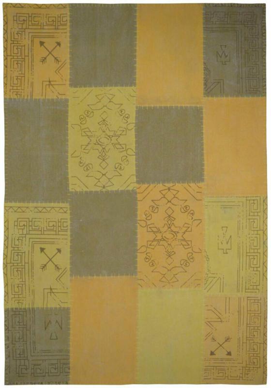 """Vintage-Teppich """"Lyrical 210"""" Multi/Gelb, 160x230cm 160x230 cm"""