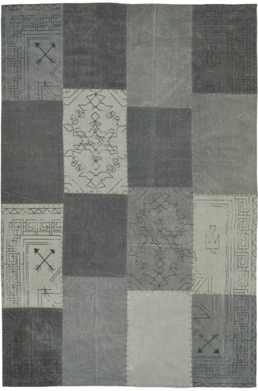"""Vintage-Teppich """"Lyrical 210"""" Multi/Grau, 200x290cm 200x290 cm"""