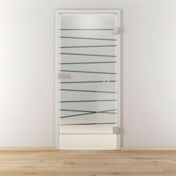 """Glasdrehtür """"NOVA 514"""", mattiert, 70,9x197,2 cm, Rechts 70,9 cm   rechts"""