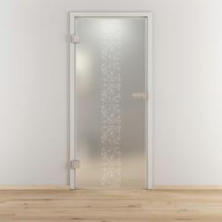 "Glasdrehtür ""NOVA 504"", mattiert, 70,9x197,2cm , Links 70,9 cm | links"