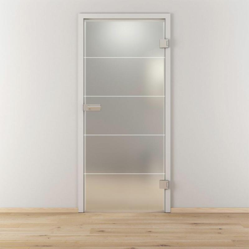 """Glasdrehtür """"NOVA 582"""", mattiert, 70,9x197,2 cm, Rechts 70,9 cm"""