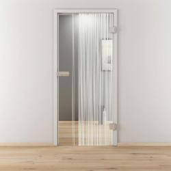"Glasdrehtür"" NOVA 584"", klar, 95,9x197,2 cm, Rechts 95,9 cm | rechts"