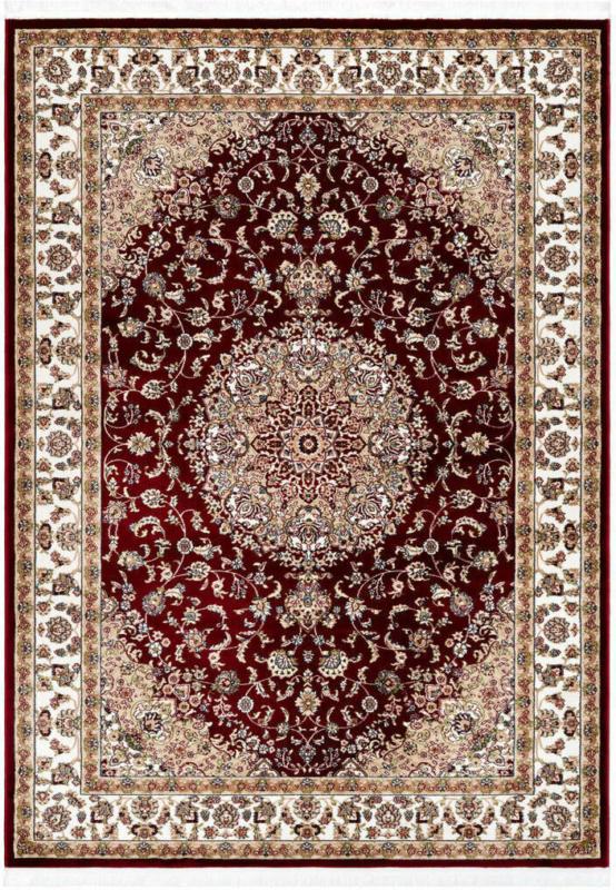"""Kurzflorteppich """"Scotland - Edinburgh"""", rot 240x330 cm"""