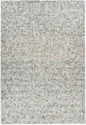 """Lederteppich """"Finish 100"""", grau/silber 200x290 cm"""