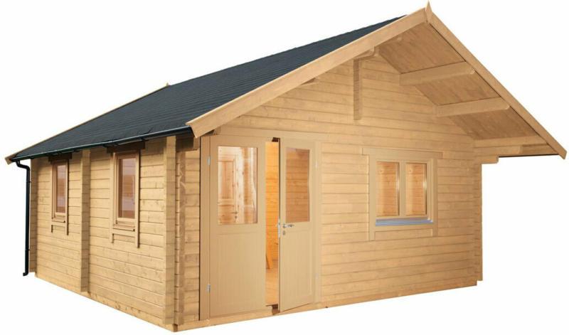 """Gartenhaus """"Lappland 70-C XL"""", mit Schlafboden"""