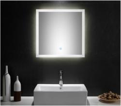 LED-Spiegel, 60x60 cm, mit Touch Bedienung 60x60 cm
