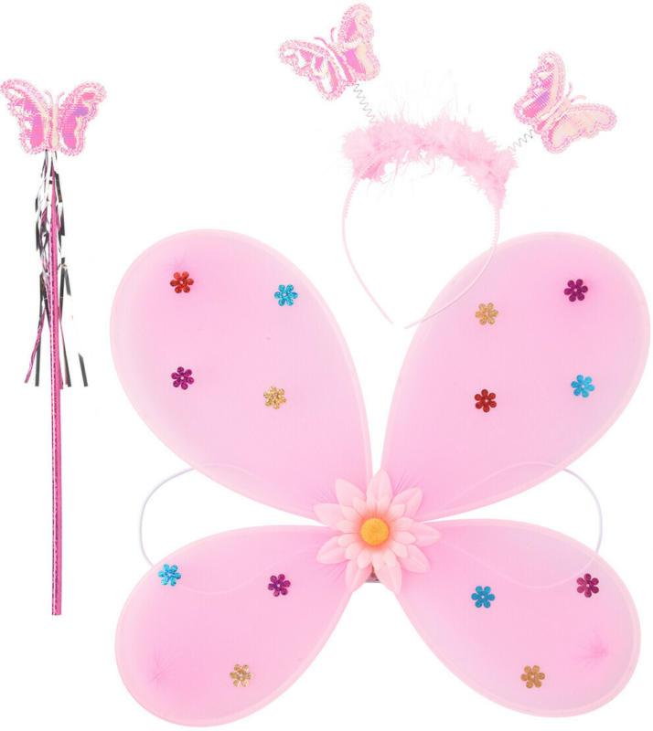 Karneval Schmetterling-Set mit LEDs (Nur online)