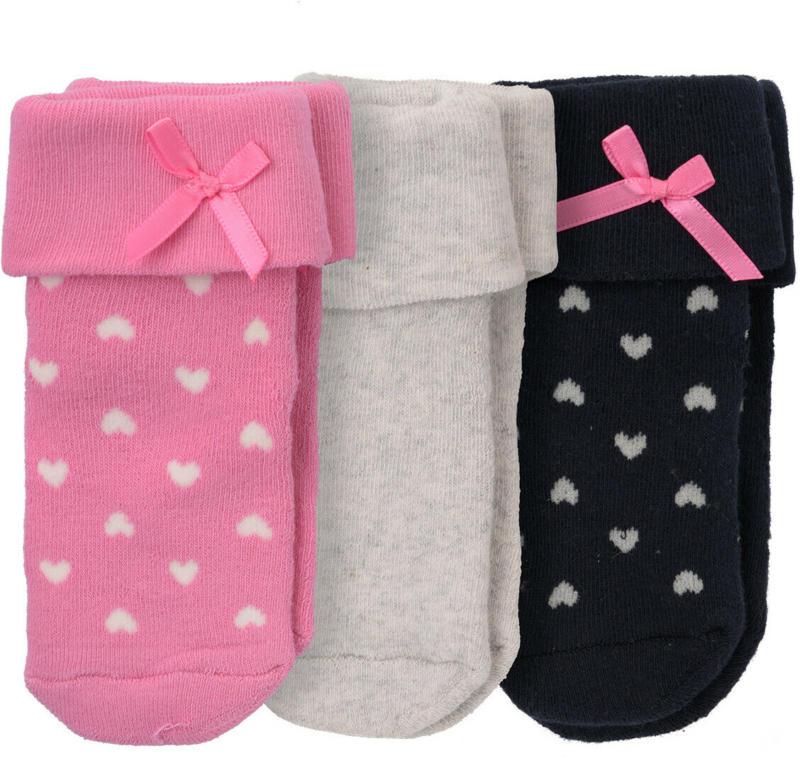 3 Paar Baby Socken im Set (Nur online)