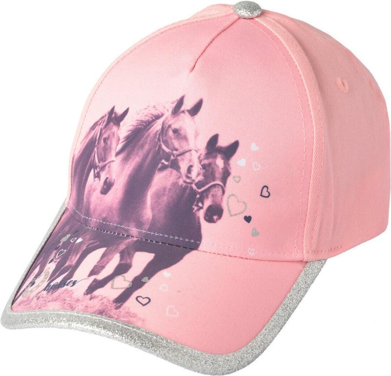 Mädchen Kappe mit Pferde-Motiv (Nur online)