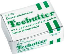 Pinzgau Milch Österreichische Teebutter