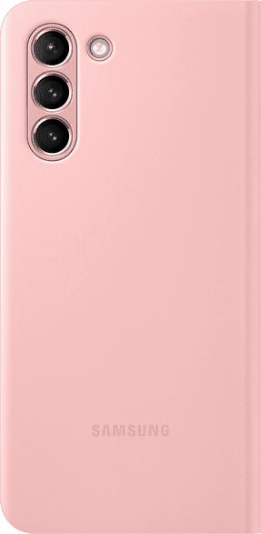SAMSUNG EF-NG991  , Bookcover, Samsung, Galaxy S21 5G, Polycarbonat, Polyurethan, Thermoplastisches Polyurethan, Pink