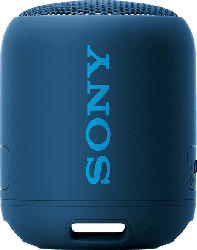 SONY SRS-XB12 Bluetooth Lautsprecher, Blau, Wasserfest