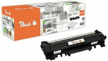 Peach Toner Module noire, compatible avec Brother TN-2410