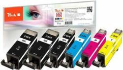 Peach Spar Pack Plus Tintenpatronen kompatibel zu Canon PGI-525, CLI-526