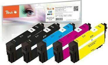 Peach Spar Pack Plus Tintenpatronen kompatibel zu Epson No. 35
