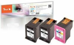 Peach Multi Pack Più, compatibili con HP No. 300XL black, CC641EE, No. 300XL color, CC644EE