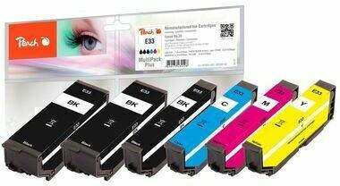 Peach Spar Pack Plus Tintenpatronen kompatibel zu Epson No. 33