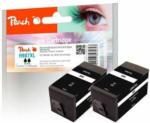 Die Post | La Poste | La Posta Peach Multi Pack Più con chip, compatibili con Brother LC-221