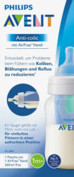 Philips AVENT Babyflasche Anti-colic mit Silikonsauger, 260ml