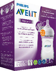 Philips AVENT Babyflasche Natural 2.0 Doppelpack, 260ml