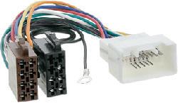 RTA Mitsubishi - Câble d'autoradio avec connecteur ISO (Multicouleur)