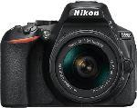 MediaMarkt NIKON Nikon D5600 + AF-P DX NIKKOR 18-55 MM 1:3,5-5,6 G VR - Spiegelreflexkamera (Fotoauflösung: 24.2 MP) Schwarz