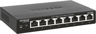 NETGEAR GS308T-100PES - Switch (Noir)