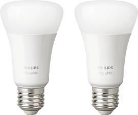 PHILIPS Hue White E27 - Leuchtmittel (Weiss)