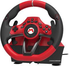 NINTENDO Mario Kart Racing Wheel Pro Deluxe per Nintendo Switch - Volante con pedali (Rosso/Nero)