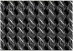 Möbelix Webteppich Schwarz Sandor 80x150 cm