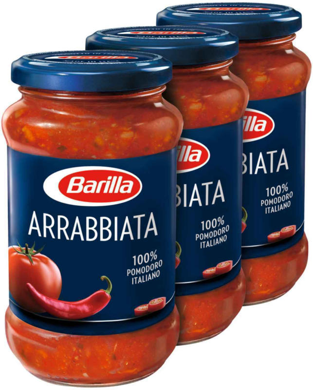 Barilla Sauce Arrabbiata 3 x 400 g -