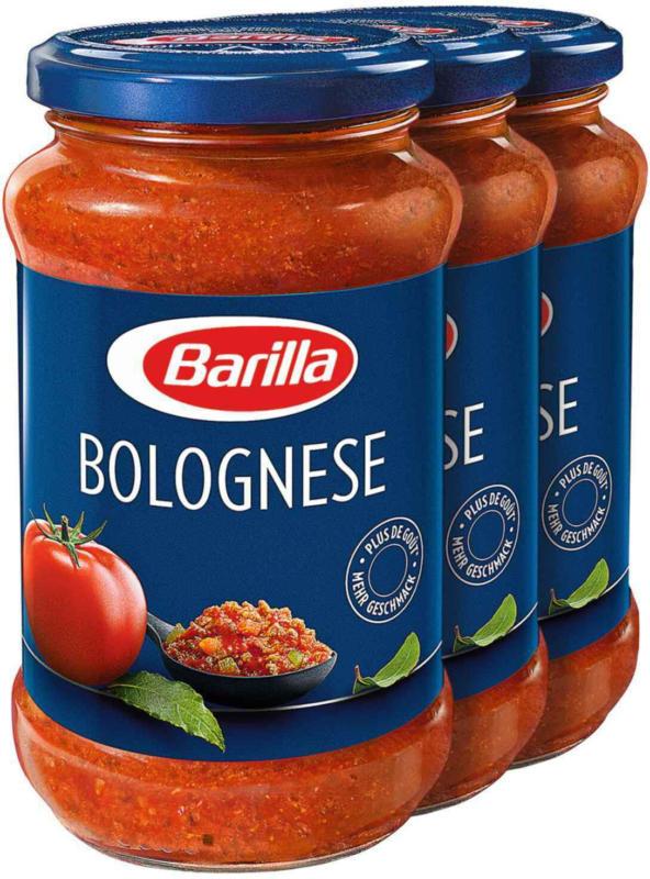 Sugo Barilla alla bolognese 3 x 400 g -