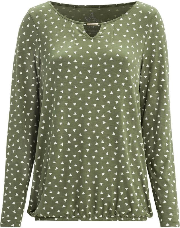 Damen Langarmshirt mit Zierelement (Nur online)