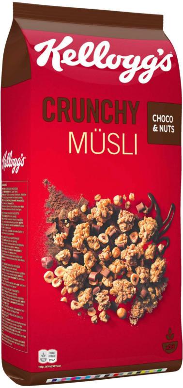 Kelloggs Crunchy Müsli