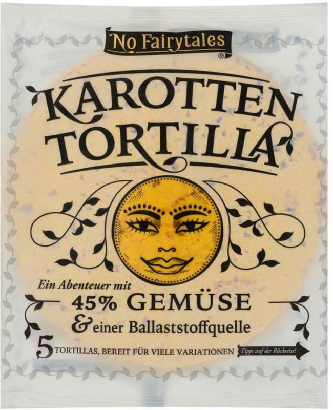 No Fairytales Karotten Tortilla