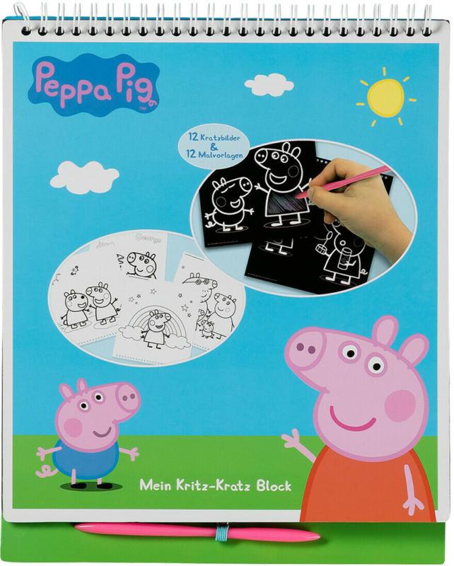 Mein Kritz-Kratz Block von Peppa Pig (Nur online)