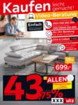 XXXLutz Mann Mobilia - Ihr Möbelhaus in Karlsruhe XXXLutz 75 Jahre Jubiläumsfinale - bis 31.01.2021