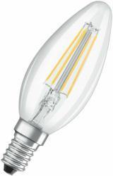 LED-Leuchtmittel, Kerzenform, dimmbar, E14, klar klar